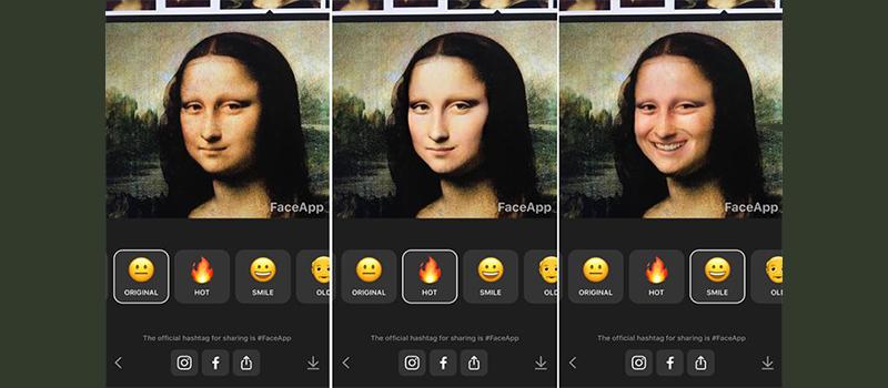 فیس اپ Faceapp