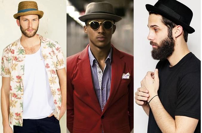 استایل شیک مردانه با کلاه در تابستان