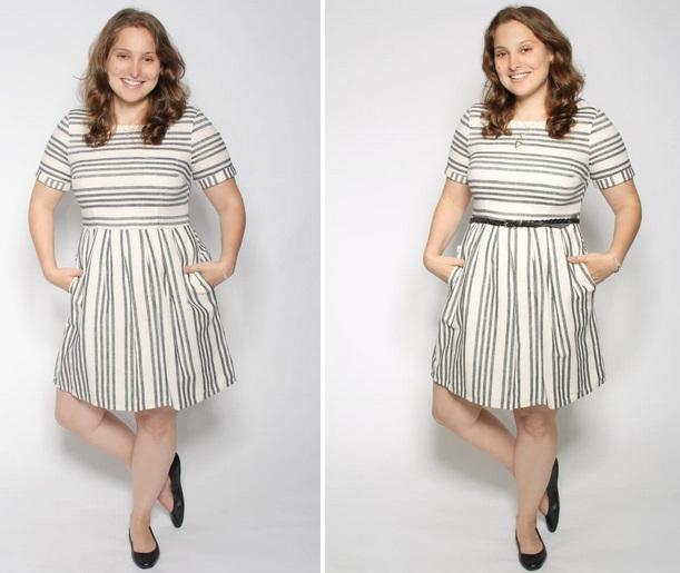 نکات استایل خانم های چاق قدکوتاه