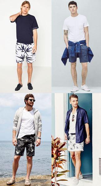 استایل های جذاب تابستانی مردانه