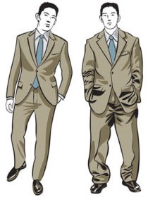 انتخاب کت و شلوار مناسب