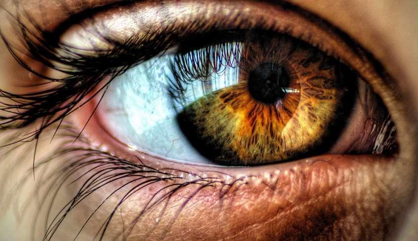 رنگ چشم های هیزل