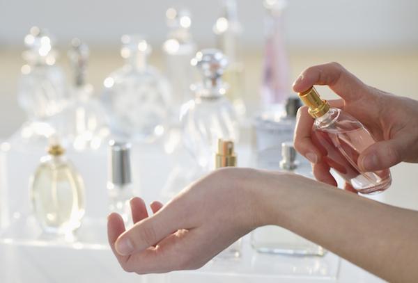 استفاده از عطر