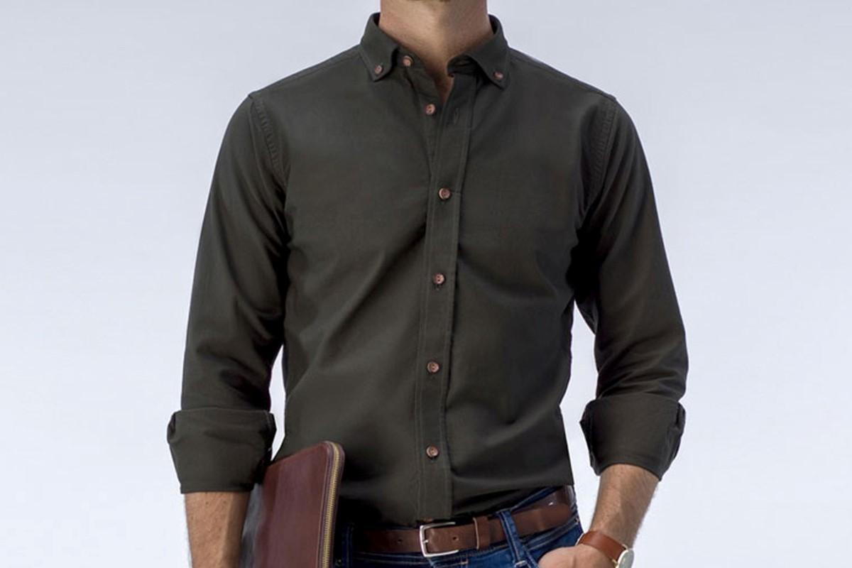 پیراهن در استایل دانشجویی آقایان