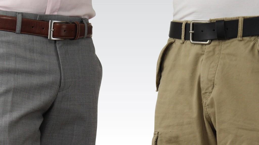 خرید اینترنتی کمربند مردانه چرم
