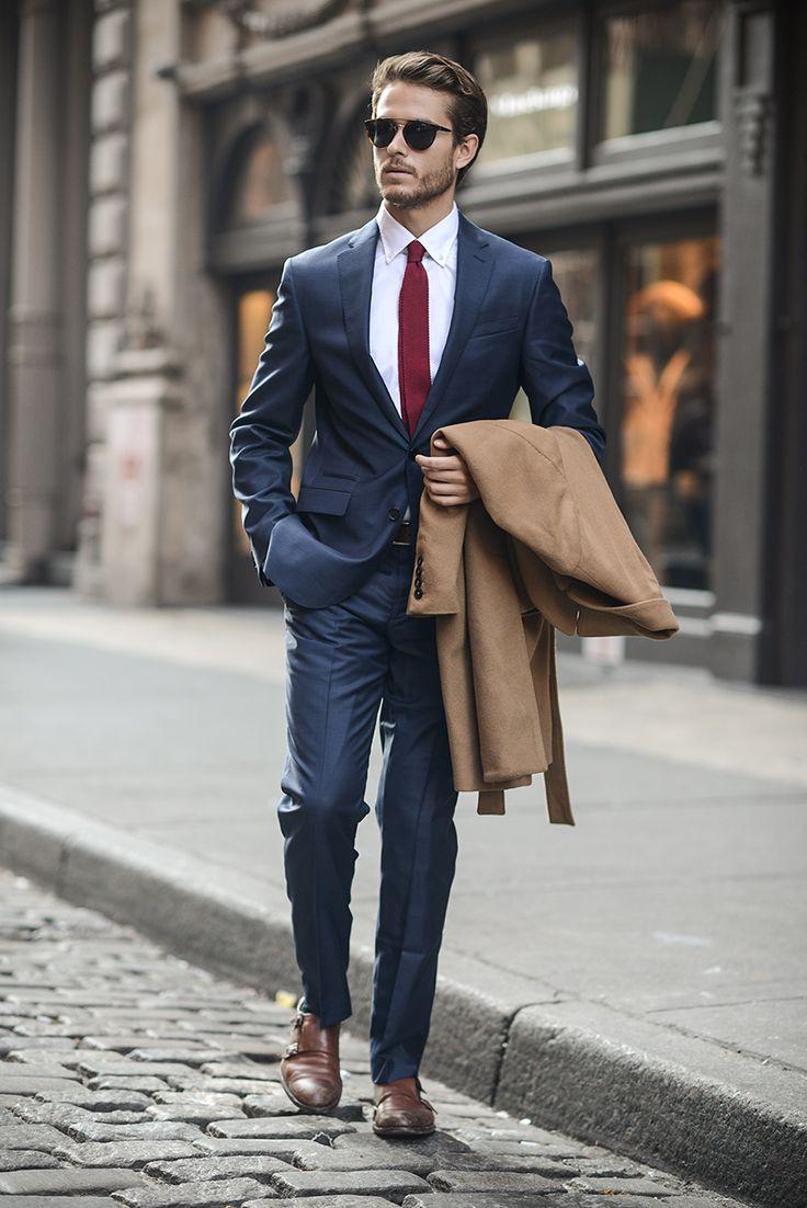 کت و شلوار پوشش مردان موفق
