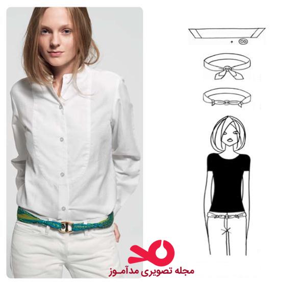 روشهای بستن شال و روسری برای بانوان ایرانی
