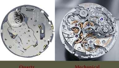 راهنمای خرید انواع ساعتهای کوارتز، نبضی و مکانیکی کوکی