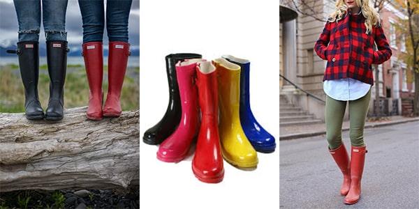 بوت بارانی زنانه