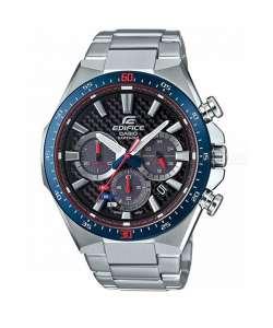 ساعت مردانه کاسیو مدل مسابقه ای EFS520TR1ADR با شیشه یاقوت کبود و استیل ضد زنگ