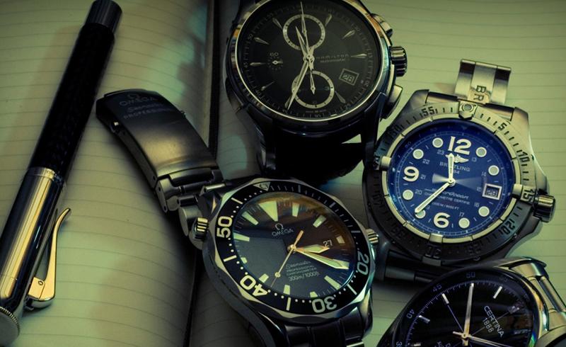 انواع مدلهای ساعت مچی مردانه
