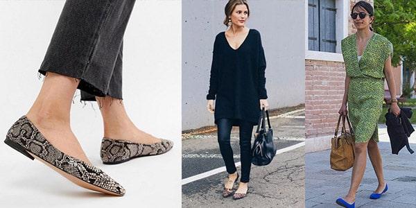 انواع کفشهای کژوال زنانه : کفش باله