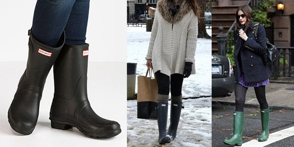 انواع کفشهای کژوال زنانه : بوت ولینگتون یا بارانی