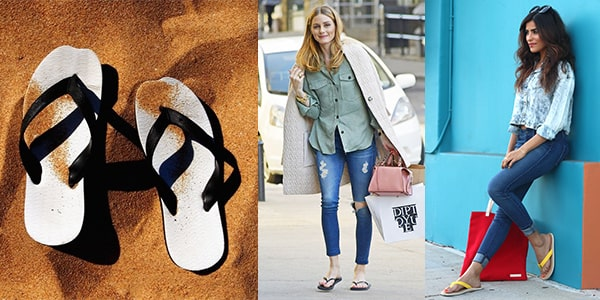 انواع کفش کژوال زنانه : صندل انگشتی