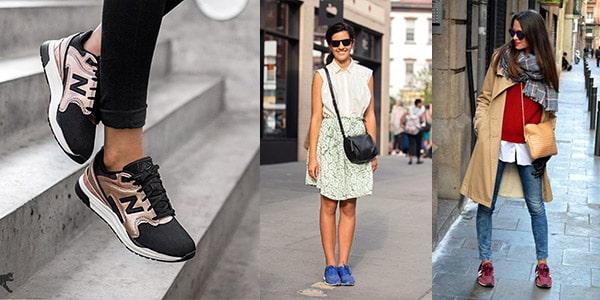 انواع کفش کژوال زنانه : کفش ورزشی