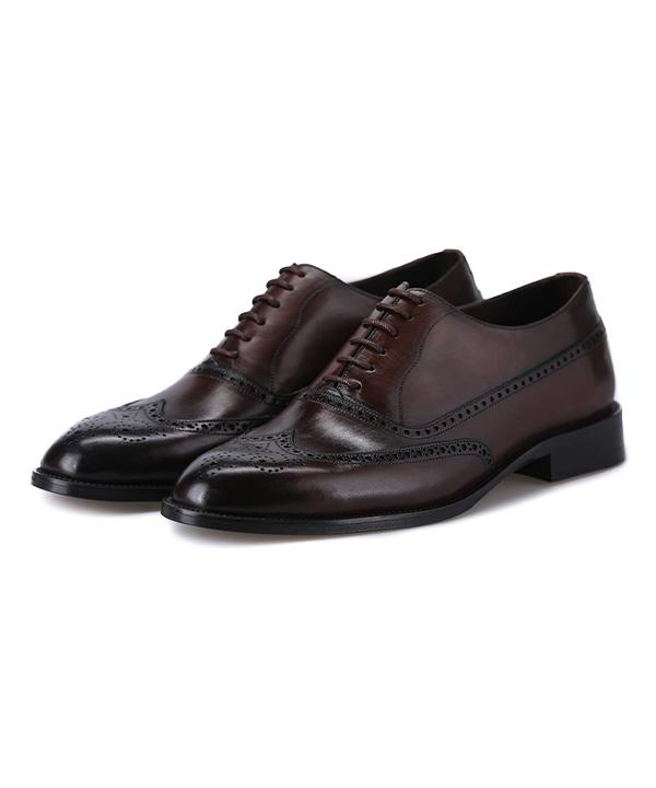 کفش چرم مردانه درسا