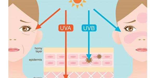تفاوت UVB و UVA