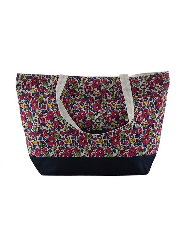 کیف خرید گل دار زنانه