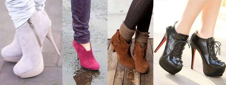 نیم بوت پاشنه بلند High Heeled Boots
