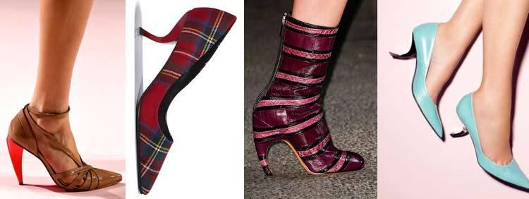 مدل کفش پاشنه کاما