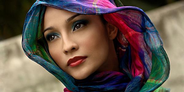 انواع مدل شال از برند های ایرانی