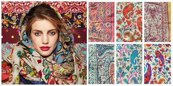 انواع مدل شال و روسری