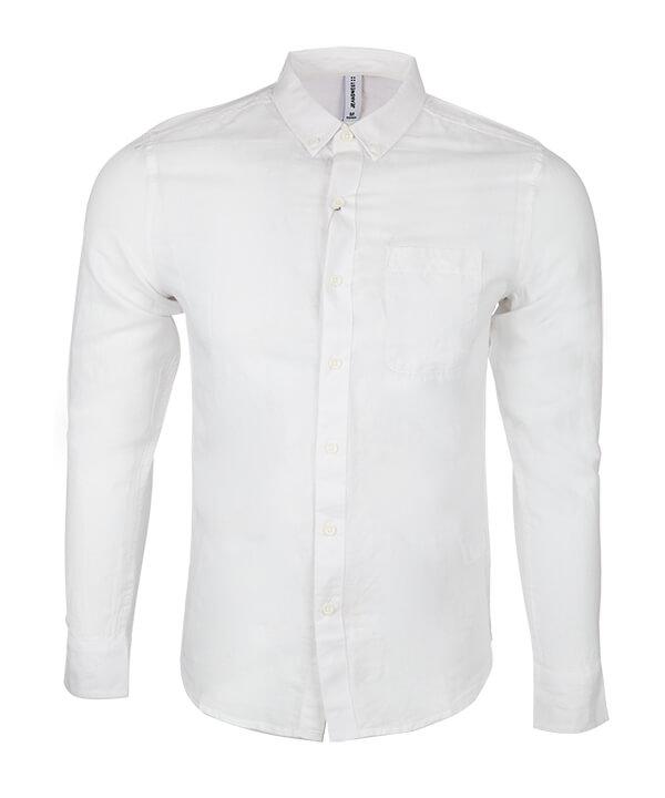 پیراهن مردانه سفید جین وست