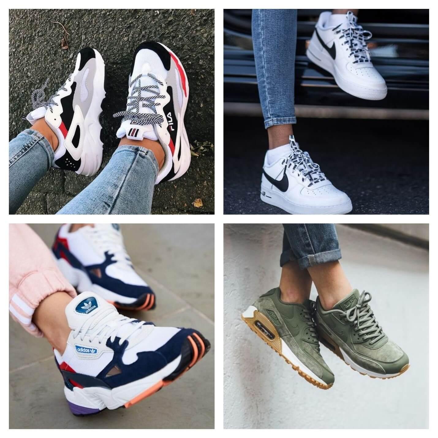 کفش کتانی ورزشی زنانه