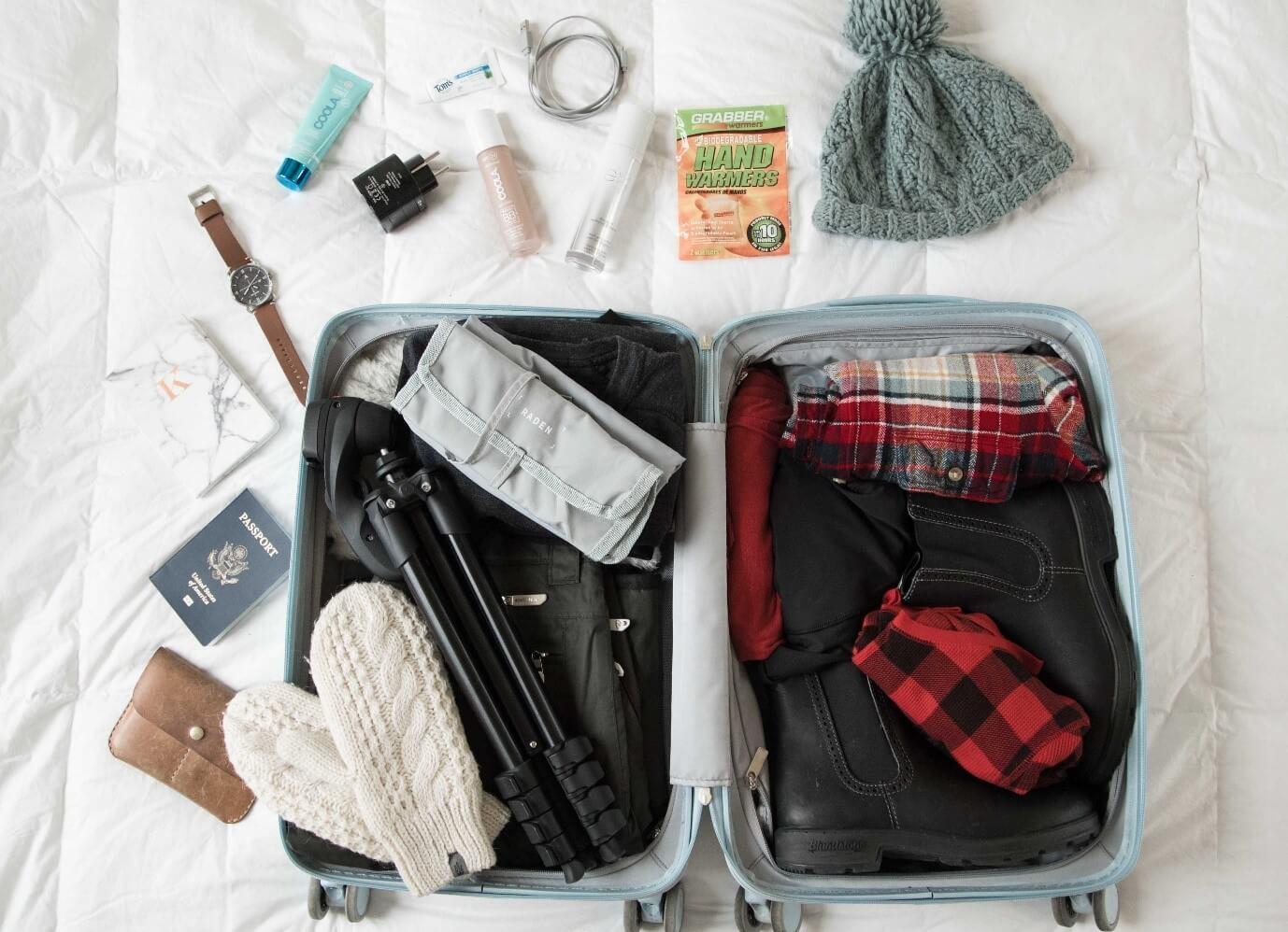 نکات بستن چمدان