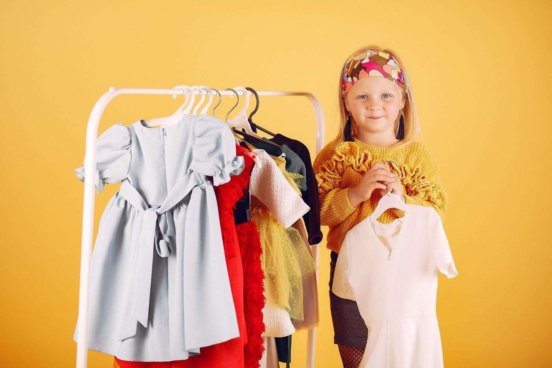 رنگ لباس های بچه گانه