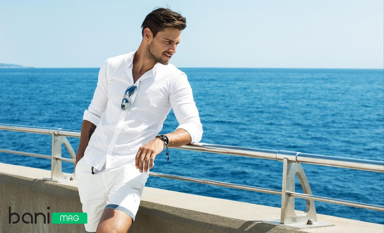 پیراهن و شلوارک مردانه