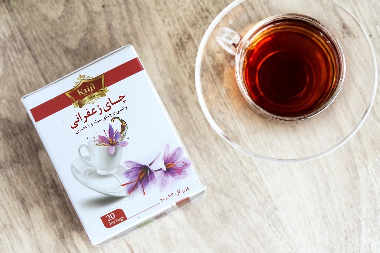 چای زعفرانی آرنیکا