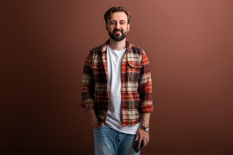 پیراهن جهارخانه پشمی مردانه