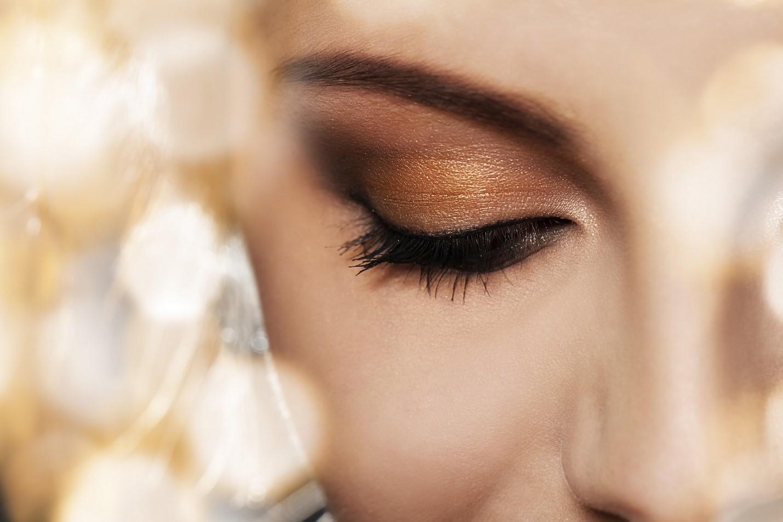 مدل آرایش چشم درشت