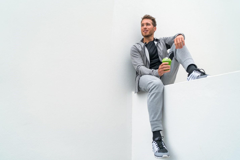 ست گرمکن و شلوار ورزشی مردانه- ست لباس ورزشی مردانه
