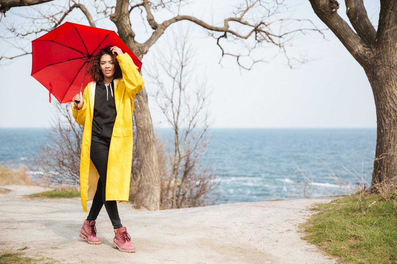 مدل بارانی زنانه و دخترانه کلاه دار