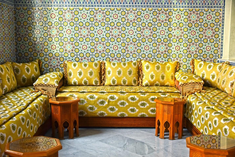 طراحی دکوراسیون داخلی مراکشی
