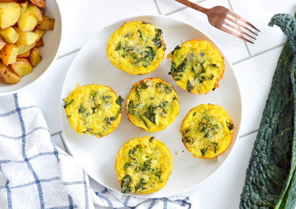 طرز تهیه مافین تخم مرغ برای صبحانه
