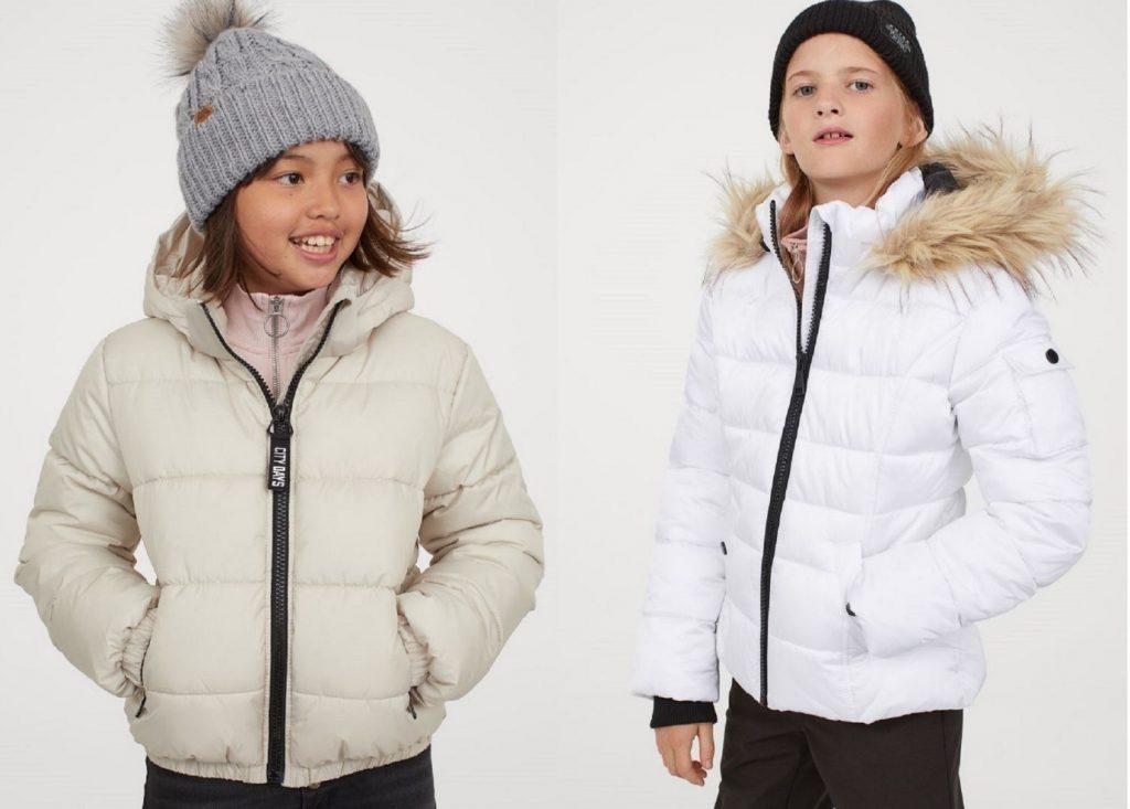 خرید کاپشن بچگانه دخترانه