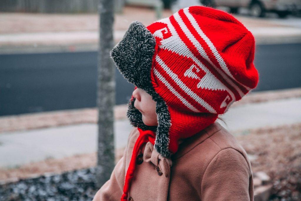مدل کلاه بافتنی بچگانه جدید
