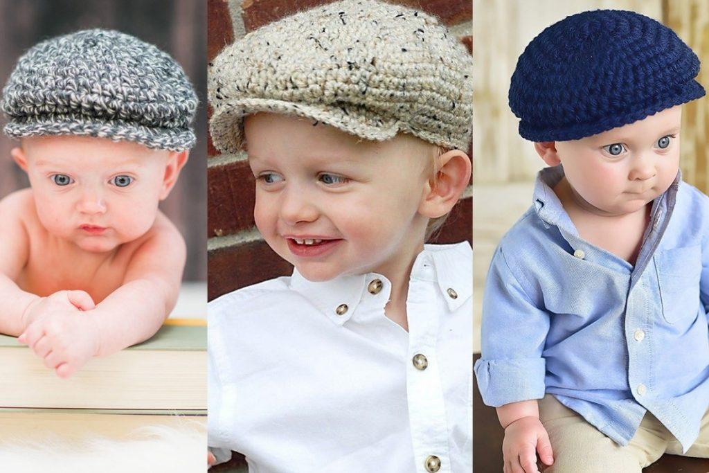 مدل کلاه بافتنی لبهدار