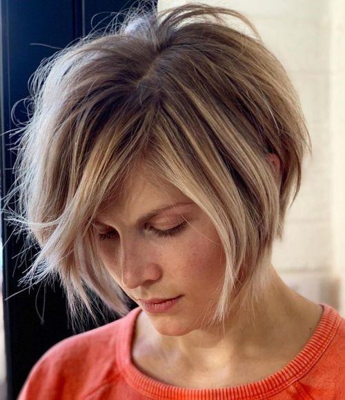 مدل موی کوتاه دخترانه شلخته