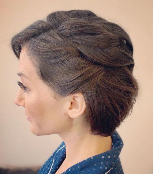 مدل موی کوتاه دخترانه مناسب برای مهمانیها