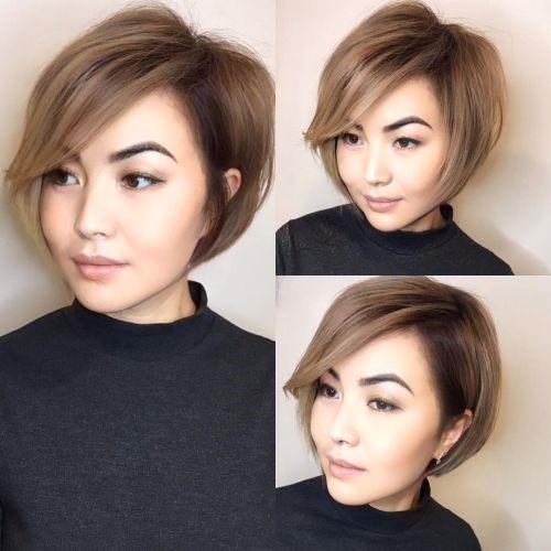 مدل مو کوتاه تا حوالی لاله گوش