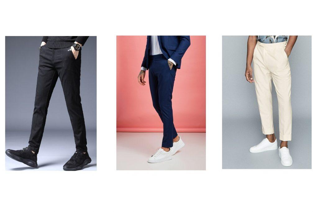 مدل شلوار پارچه ای مردانه قد 90