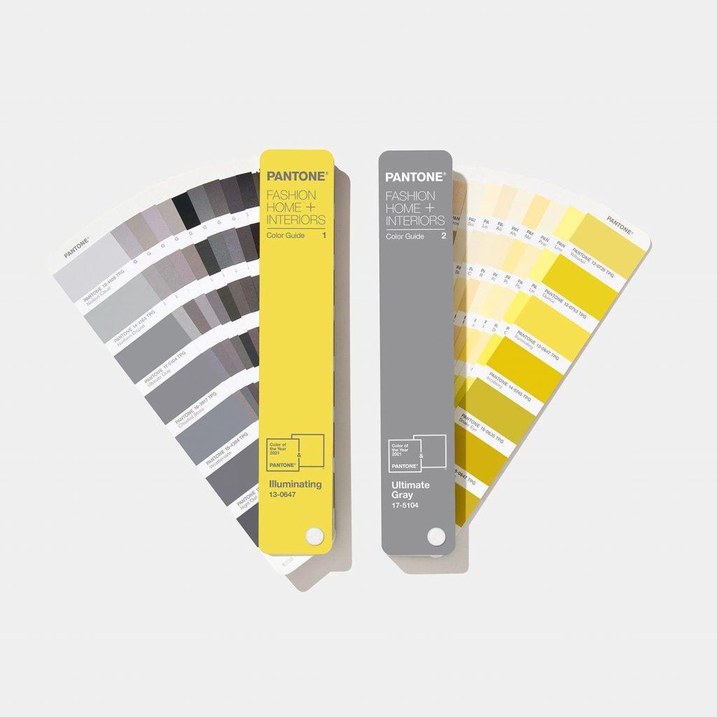 زرد و خاکستری رنگ سال امسال