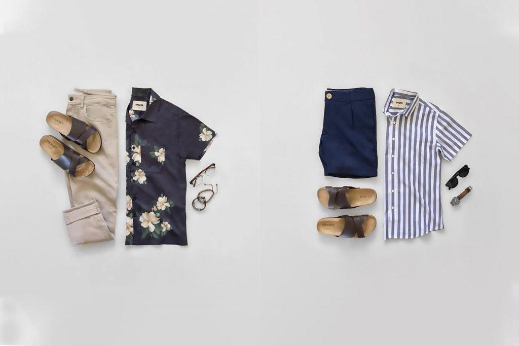 ست پیراهن و شلوار با انواع اکسسوری