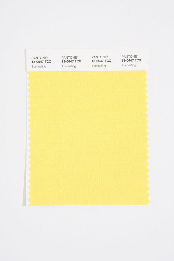 رنگ سال 2021، رنگ زرد