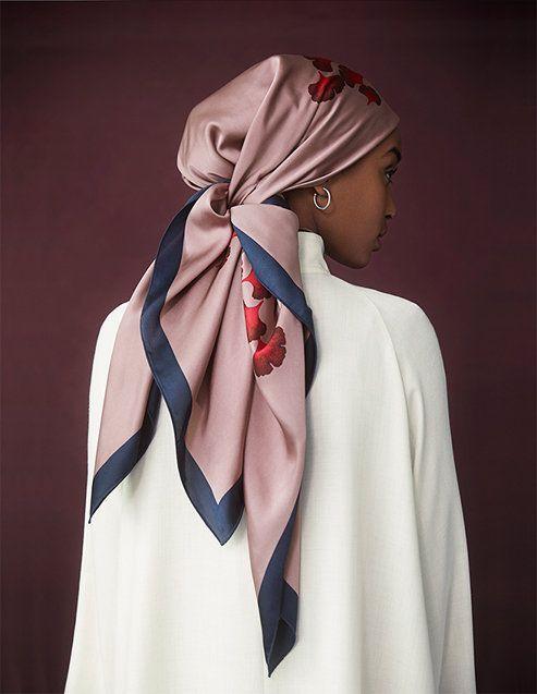 جدیدترین مدل بستن روسری