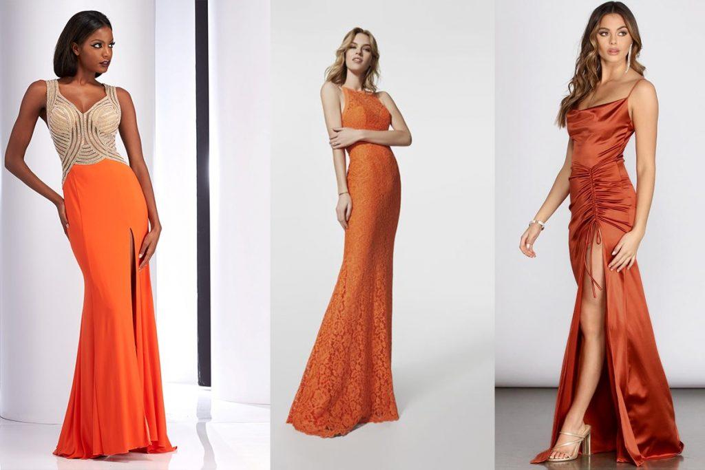 ترکیب رنگی نارنجی